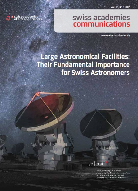 Large Astronomical Facilities: Their Fundamental Importance for Swiss Astronomers