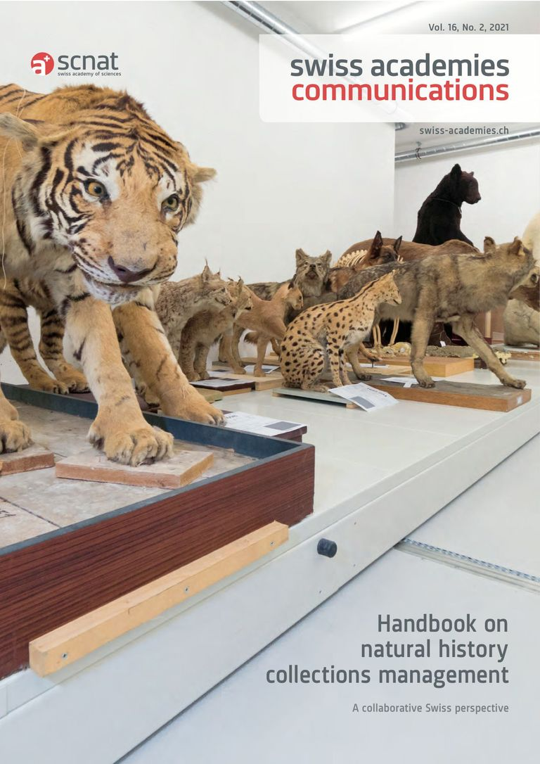 Handbook on natural history collections management