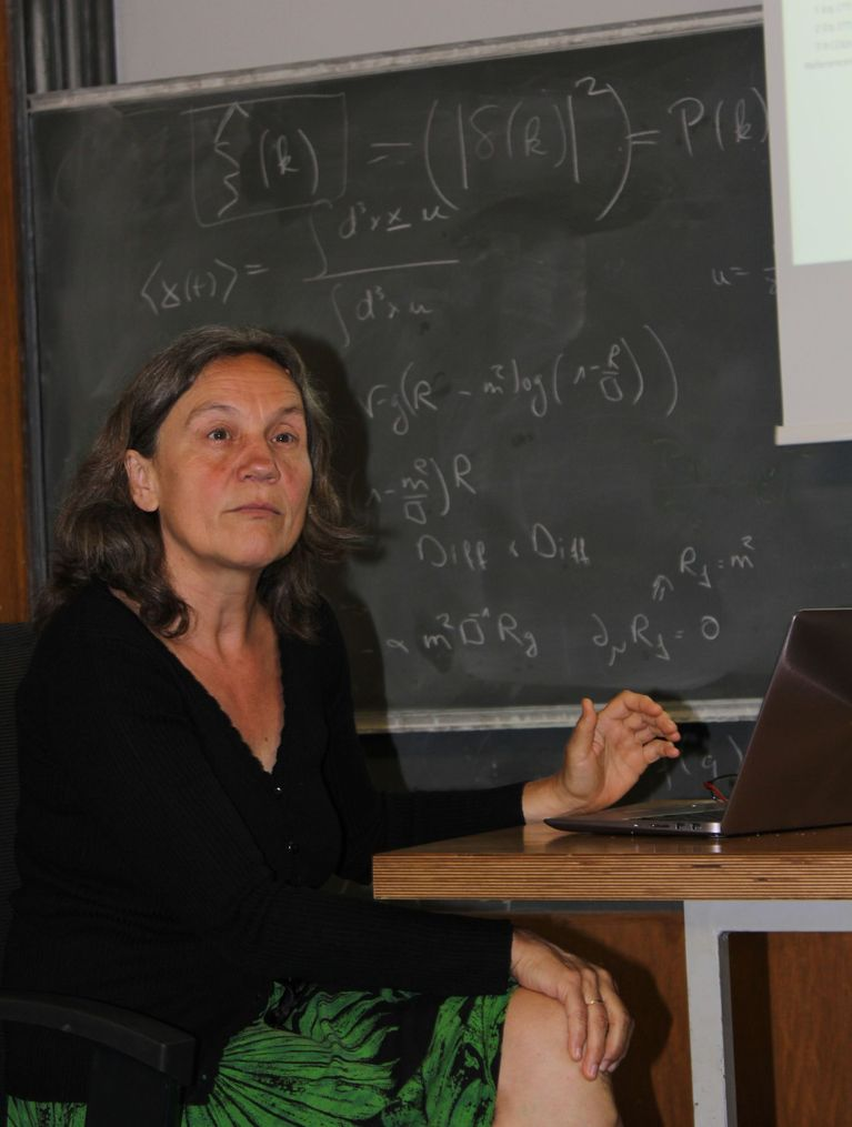 Prof. Ruth Durrer, cosmologist and astrophysicist at the University of Geneva.