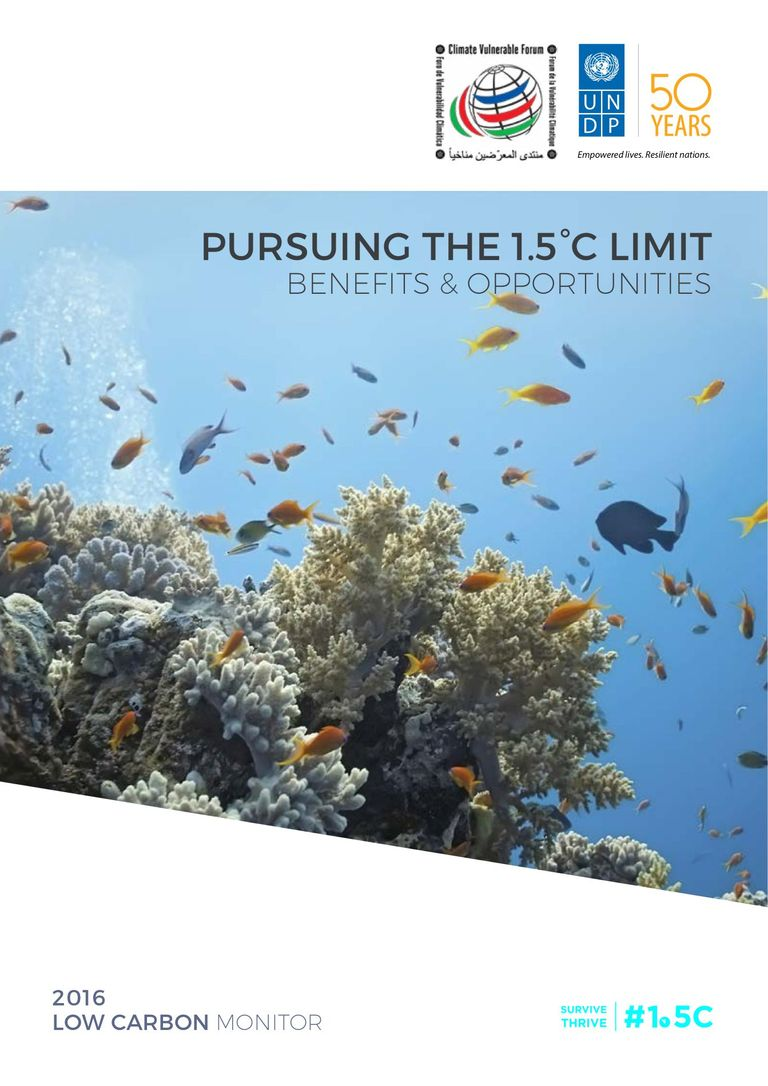 Pursuing the 1.5 °C Limit: Benefits and Opportunities
