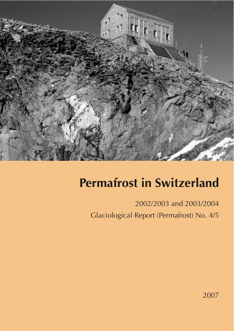 Permafrost in Switzerland 2002/2003 and 2003/2004