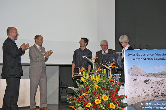 Nexans Prize award ceremony at SGM 2009 in Neuchâtel