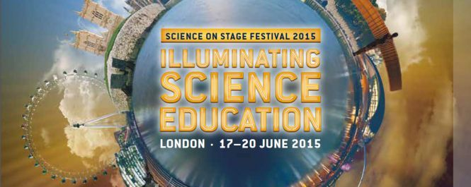 Flyer Science on Stage Europe 2015