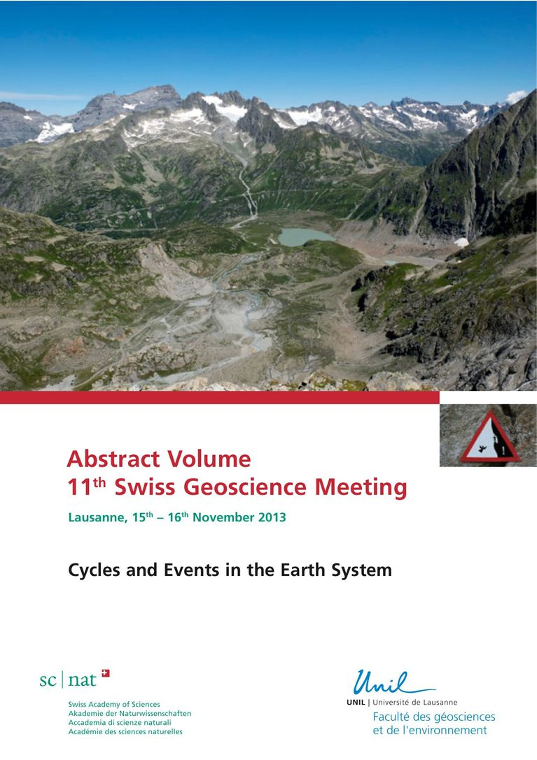 Abstract Volume SGM 2013