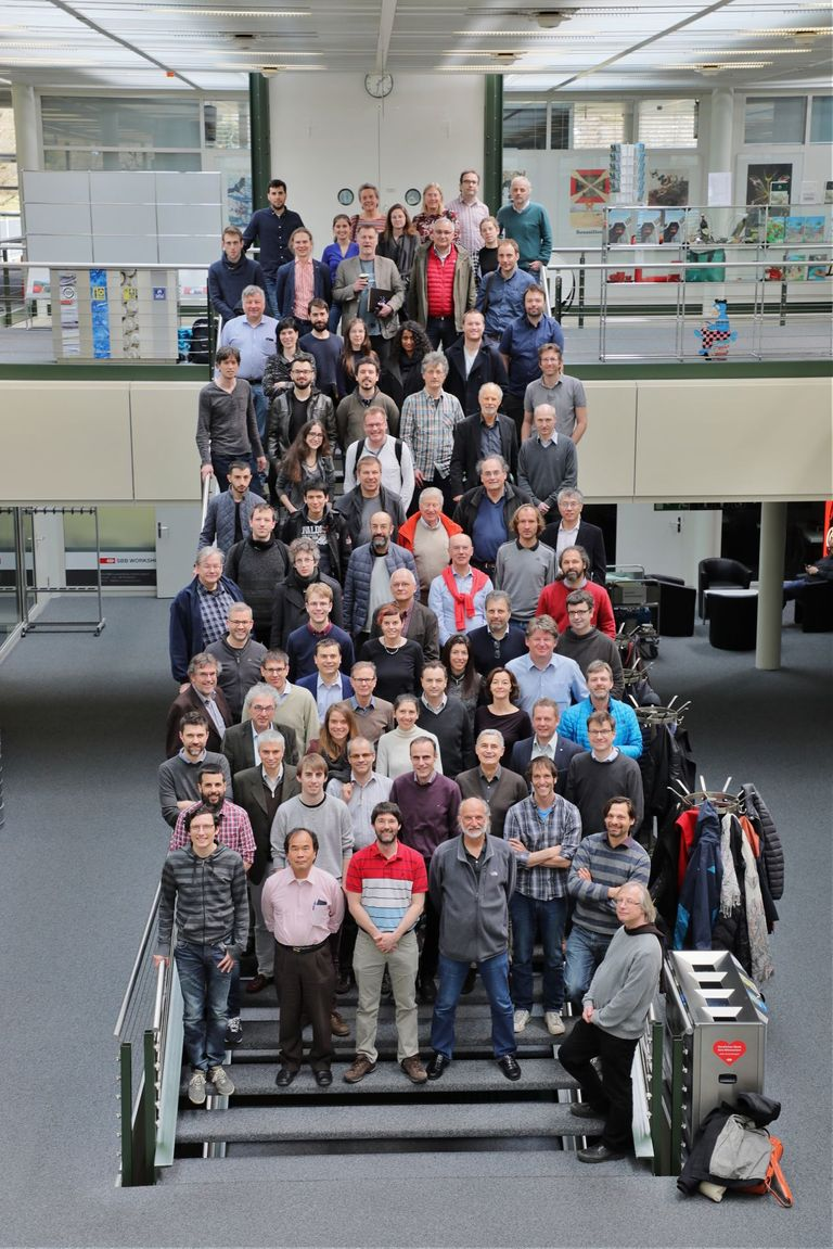 Group photo from the SWICH workshop that took place from 3 to 6 April at the Center Loewenberg.
