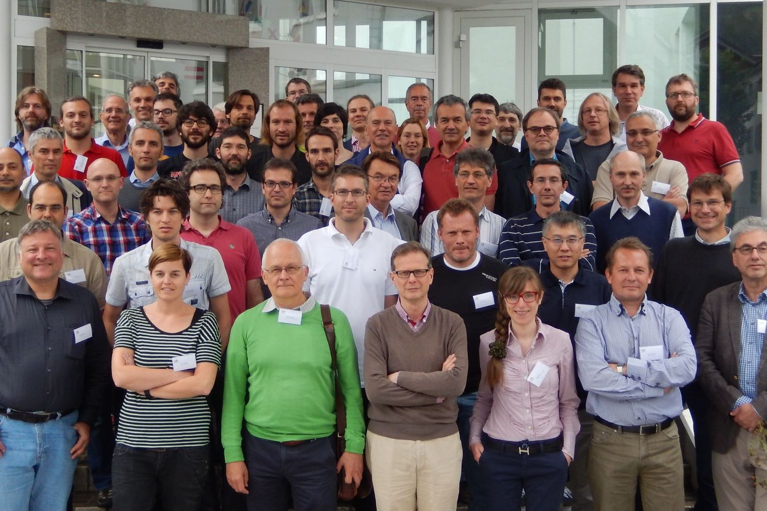 Group picture of attendees at the SWHEPPS 2016 workshop of CHIPP