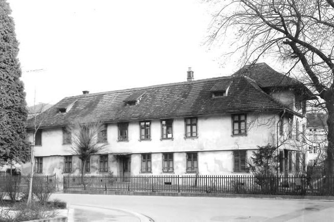 Main building of the «Laboratorium» in 1960