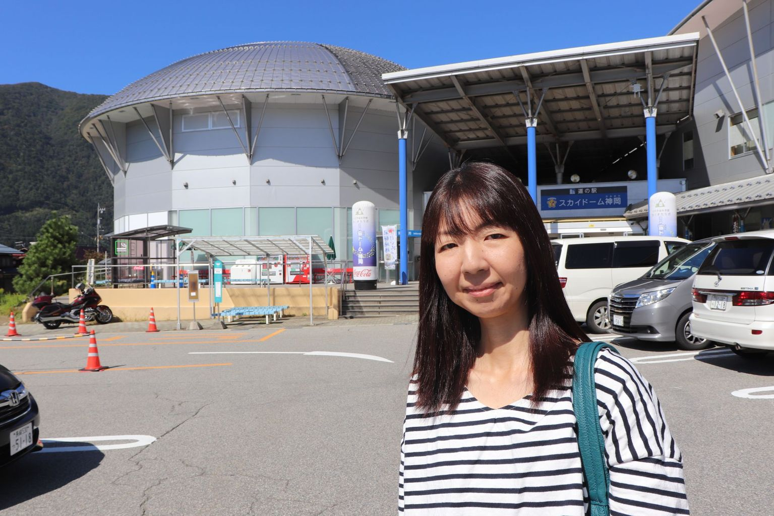 Dr. Yumiko Takenaga, PR officer of the Kamioka Observatory, and researchers around Kamioka collaborating with Hida-city have contributed to establishing the KamiokaLab Science Museum in Kamioka, which informs the general public about neutrino research. Photo: B. Vogel