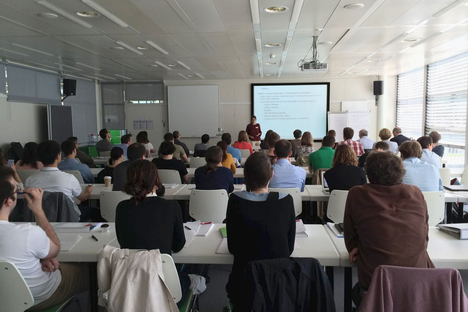 Over 40 PhD students and postdocs attended the course.