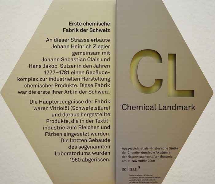 Chemical Landmark 2009 Tafel