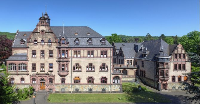 Physikzentrum Bad Honnef, venue for the drafting session of the European strategy for particle physics.