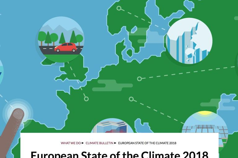 European State of the Climate 2018