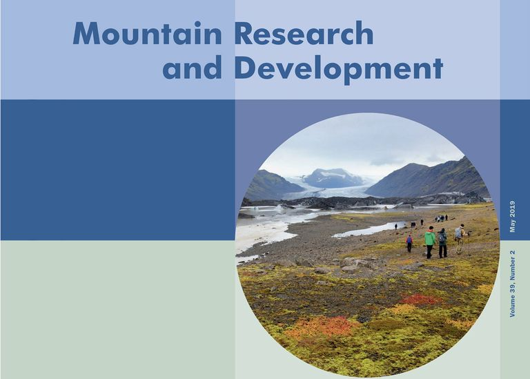 Mountain Research and Development Vol 39, No 2