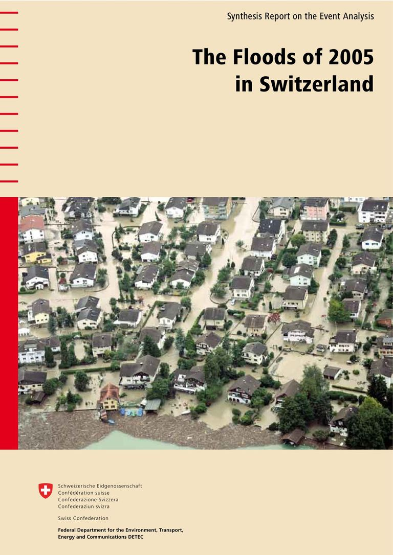 The floods of 2005 in Switzerland
