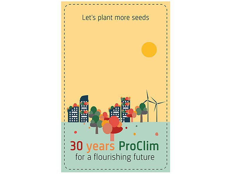 Seeds for a flourishing future as an anniversary giveaway. #SGCD18