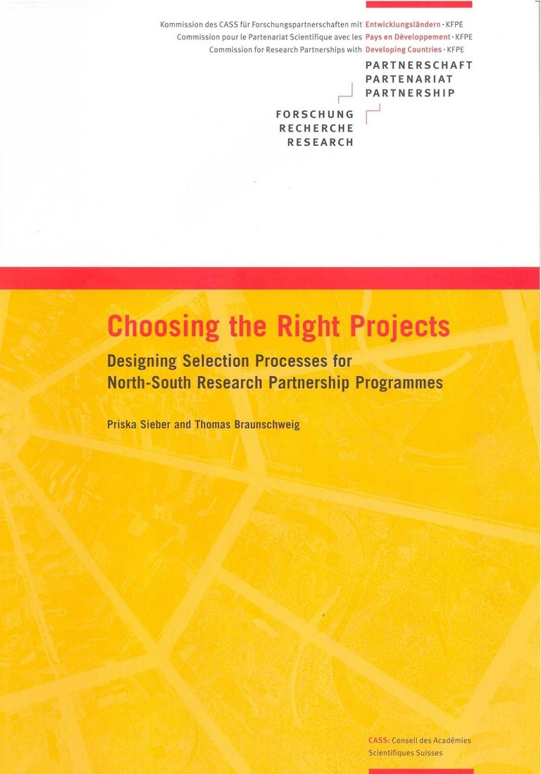 Choosing the Right Projects