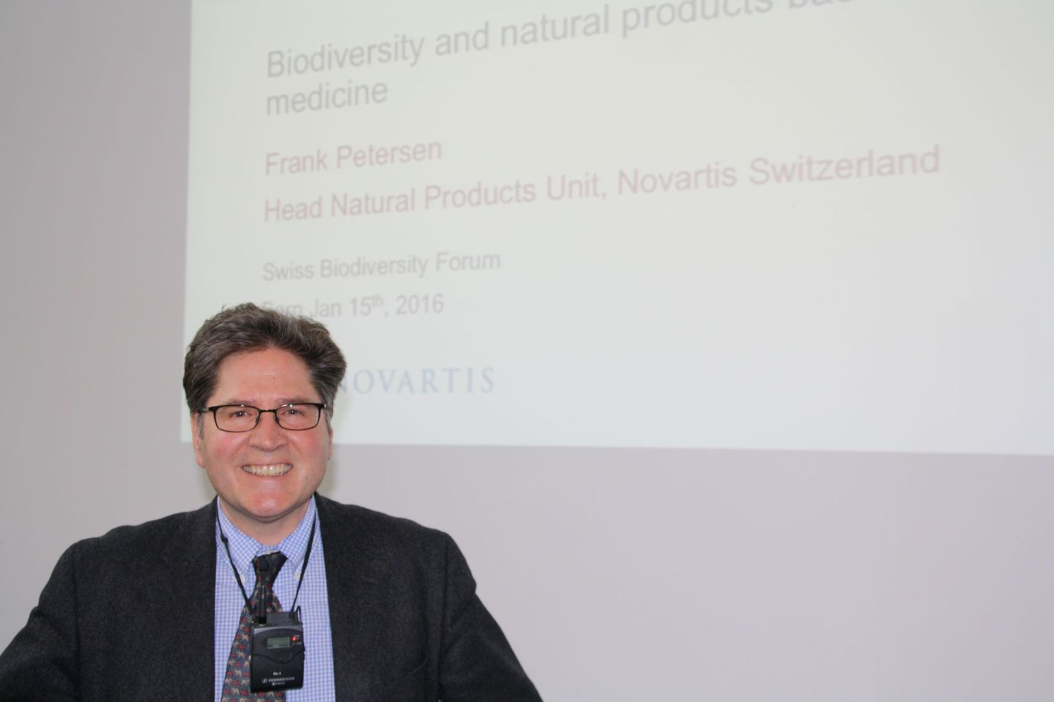 SWIFCOB 16 : Frank Petersen, Novartis