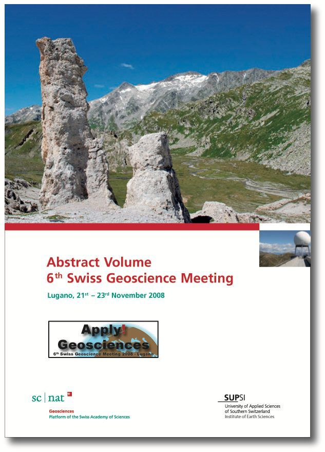 Abstract Volume SGM2008 Cover