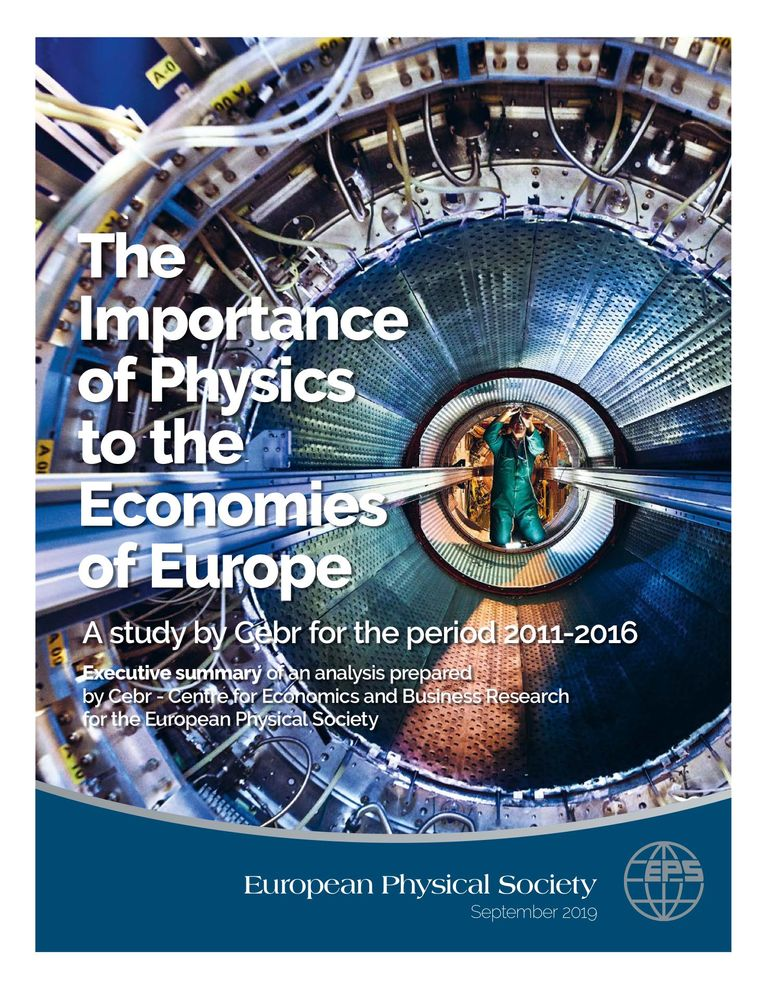 The Importance of Physics to the Economics of Europe (EPS Executive Summary)