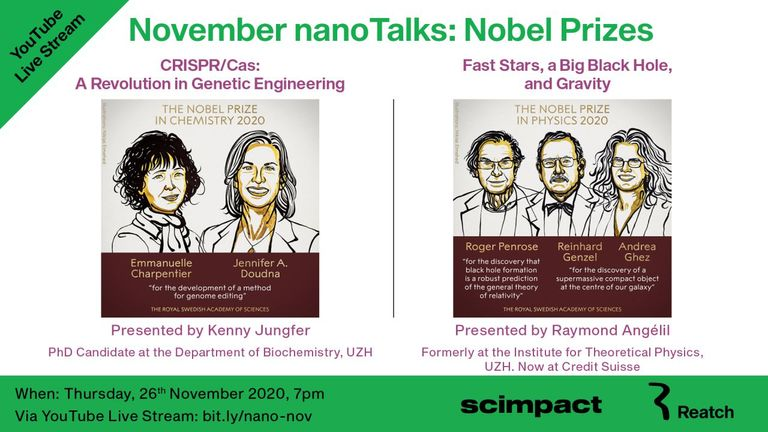 November nanoTalks: Nobel Prize Chemistry