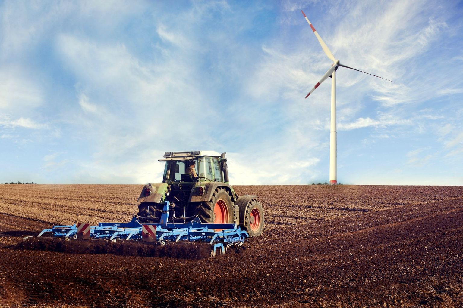 Agriculture and wind power