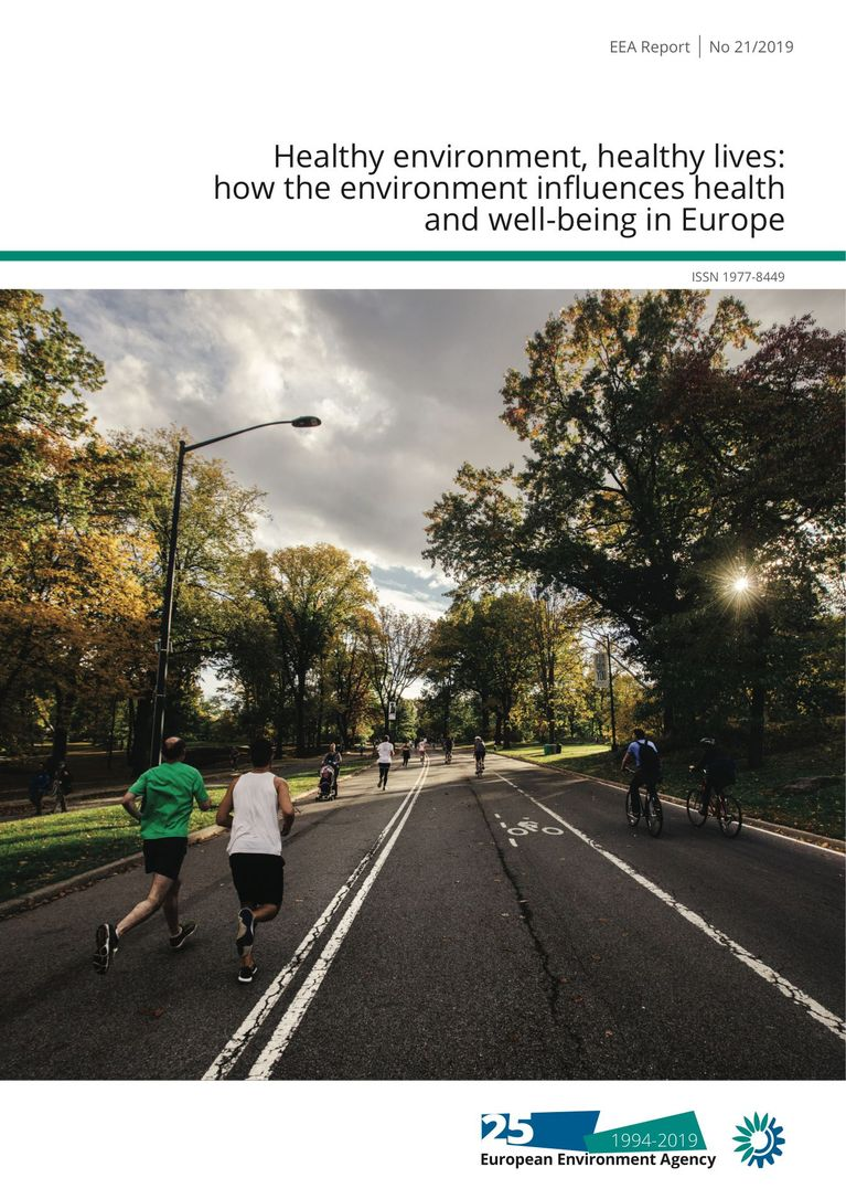EEA Report No 21/2019: Healthy environment, healthy lives: how the environment influences health and well-being in Europe