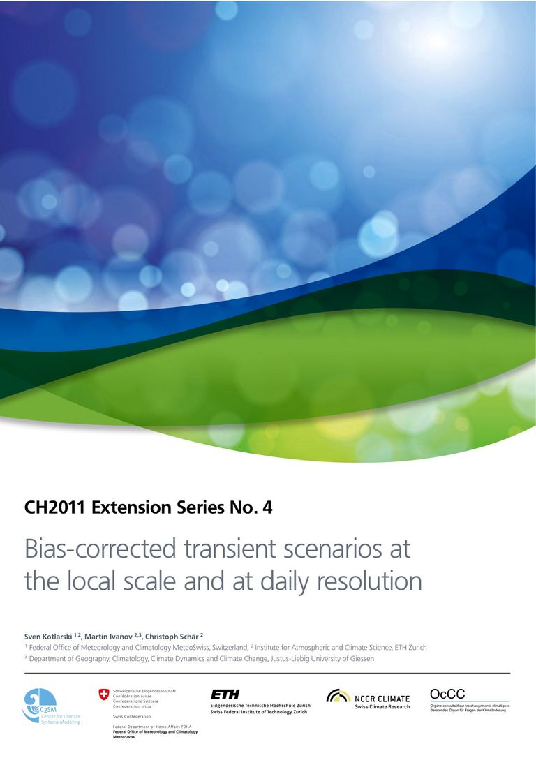 CH2011 Extension No. 4: Bias-corrected transient scenarios at the local scale and at daily resolution