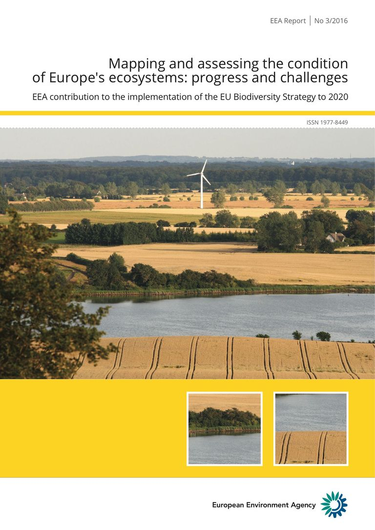 Mapping and assessing the condition of Europes ecosystems