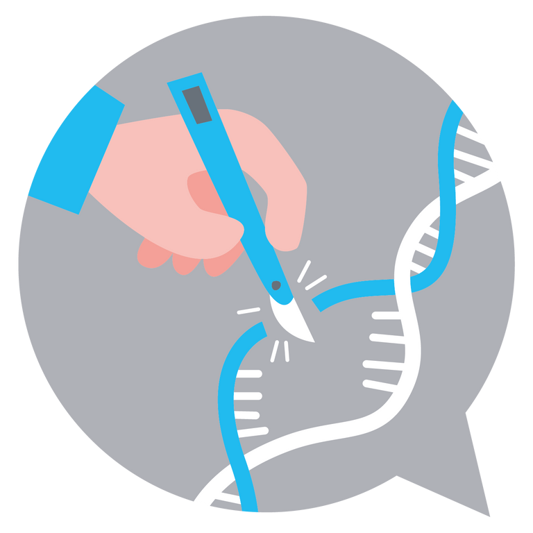 Icon CRISPR Webinars grey