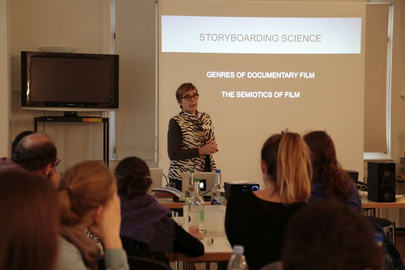 Rigi-Workshop Storyboarding Science, Prof. Marille Hahne (ZHdK)