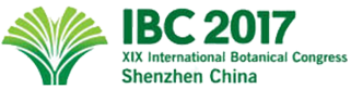 XIX International Botanical Congress logo