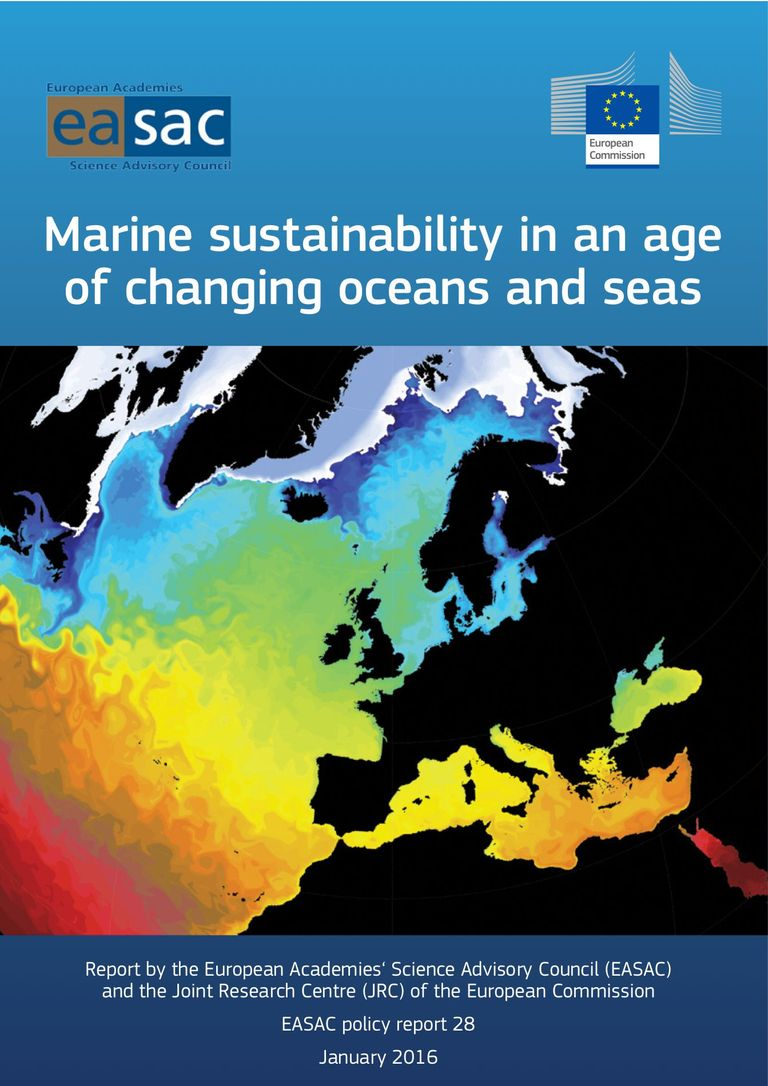 "EASAC report ""Marine sustainability in an age of changing oceans and seas"""