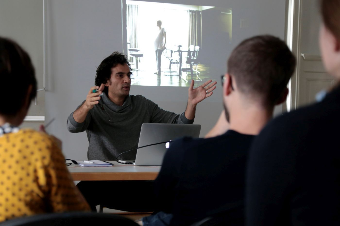 Rigi-Workshop Storyboarding Science, Dr. Samer Angelone-Alasaad (Global Ecofilm Festival)