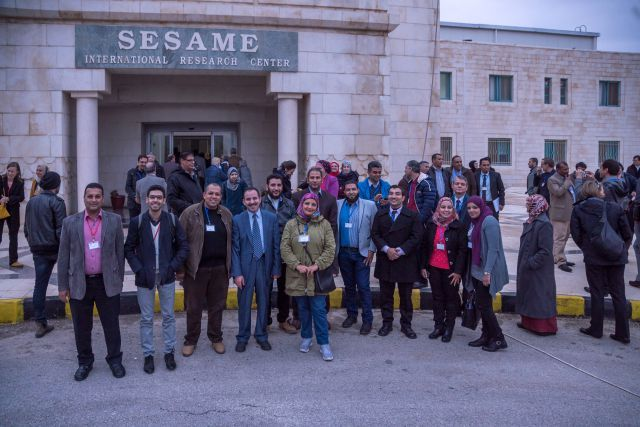 In December 2016, over 100 future SESAME users met in Jordan to discuss SESAME's future research program.