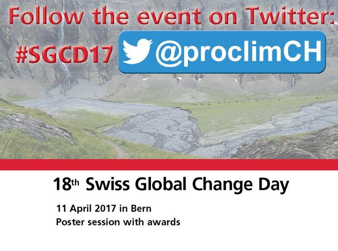 18th Swiss Global Change Day - Live on Twitter