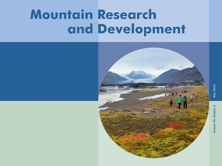 Mountain Research and Development Vol 39, No 2: Adaptation to Climate Change and Sustainable Mountain Development