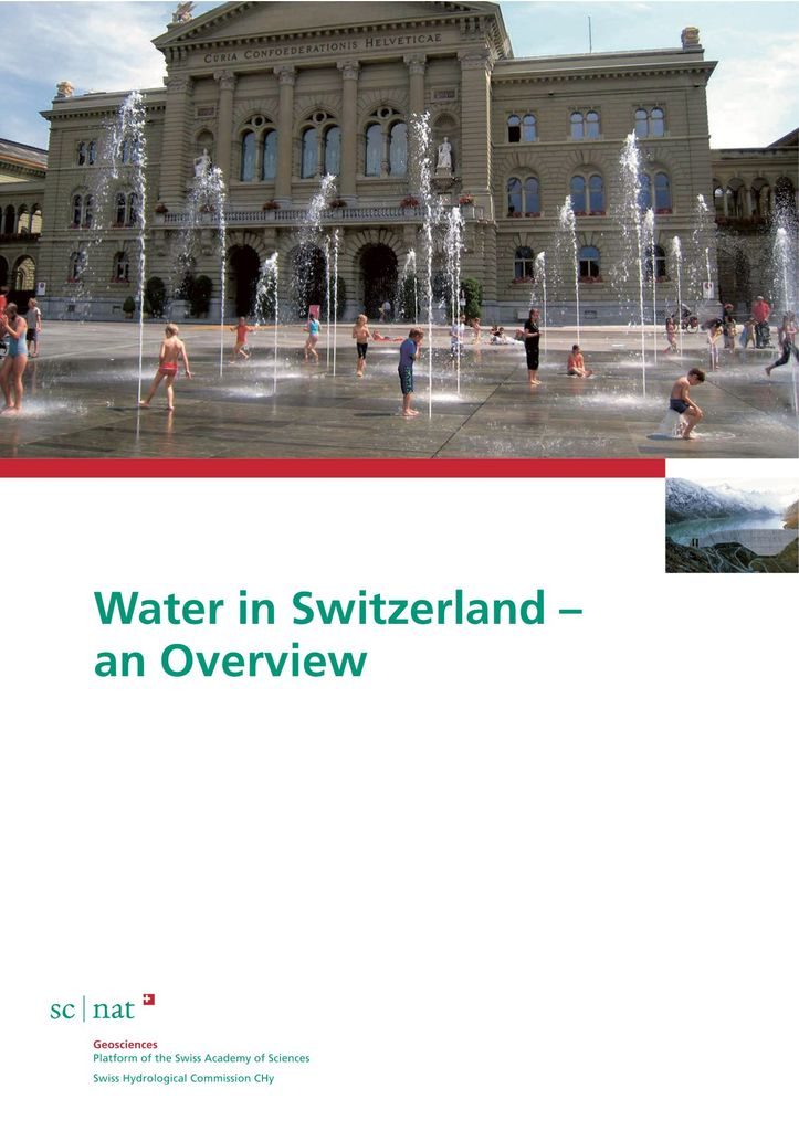Water in Switzerland – An Overview