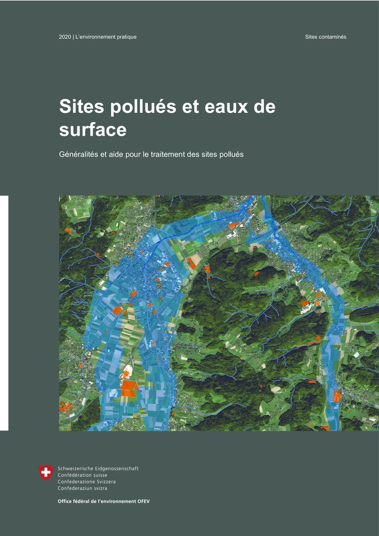 OFEV (2020) Sites pollués et eaux de surface