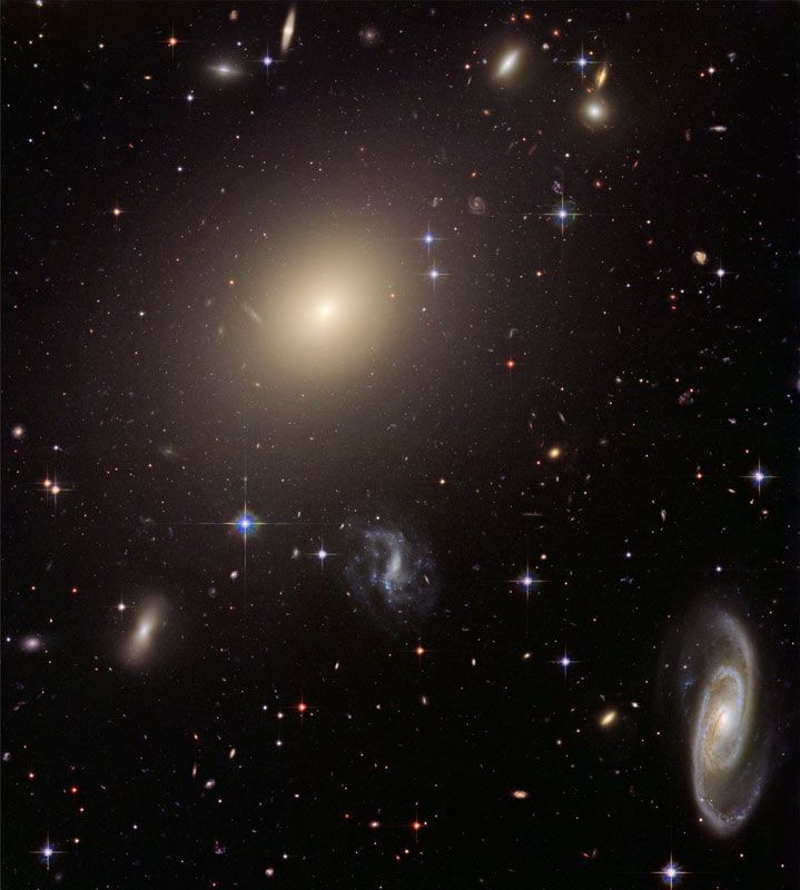 Galaxies in many different shapes