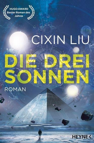 The science fiction novel 'The Three-Body Problem' written by Cixin Liu was released in December 2016 in German (titled 'Die drei Sonnen').