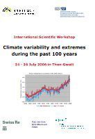 Teaser: Climate variability and extremes during the past 100 years - International Scientific Workshop