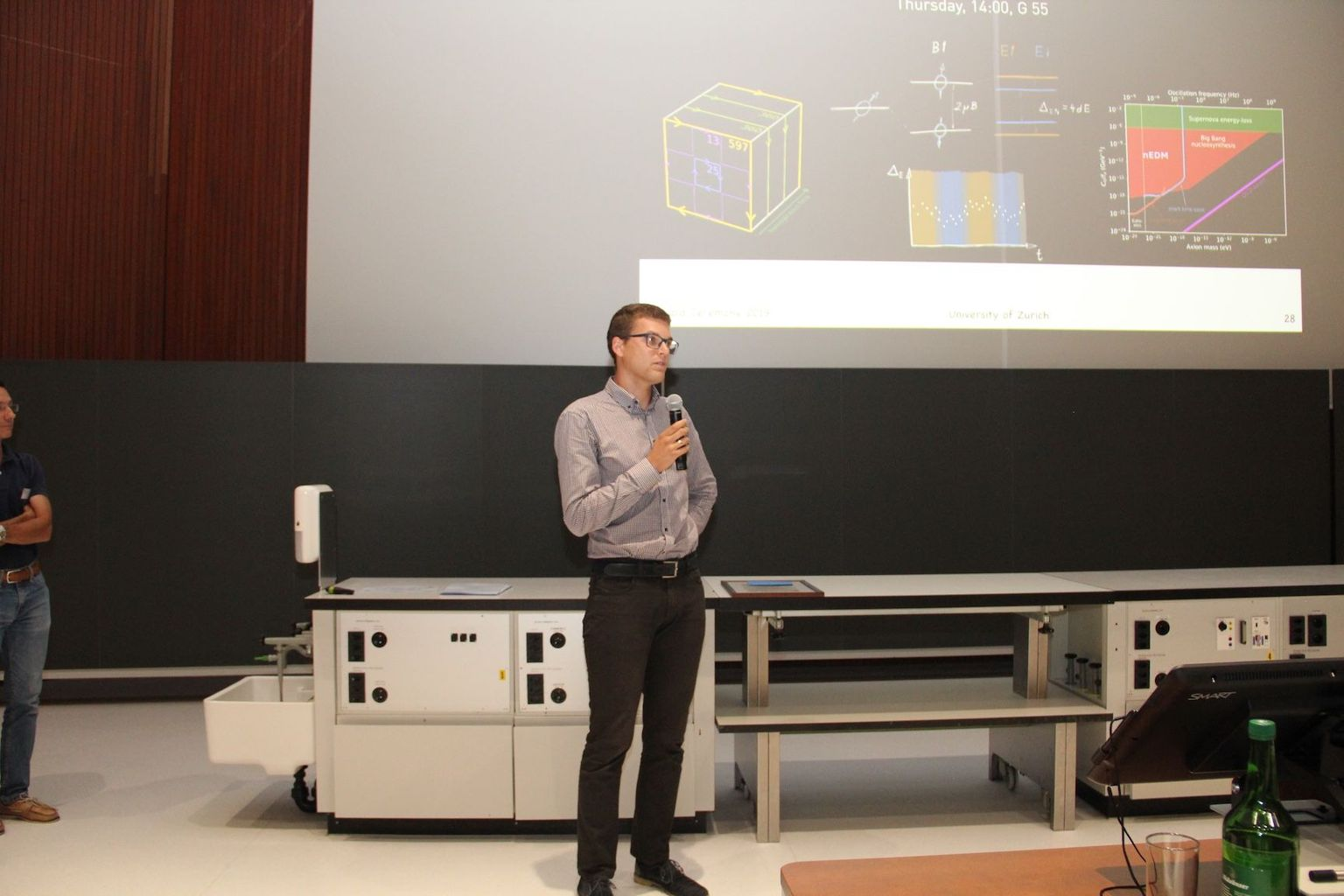 CHIPP Prize 2019 Michal Rawlik at the SPS/OPG joint meeting at the University of Zurich