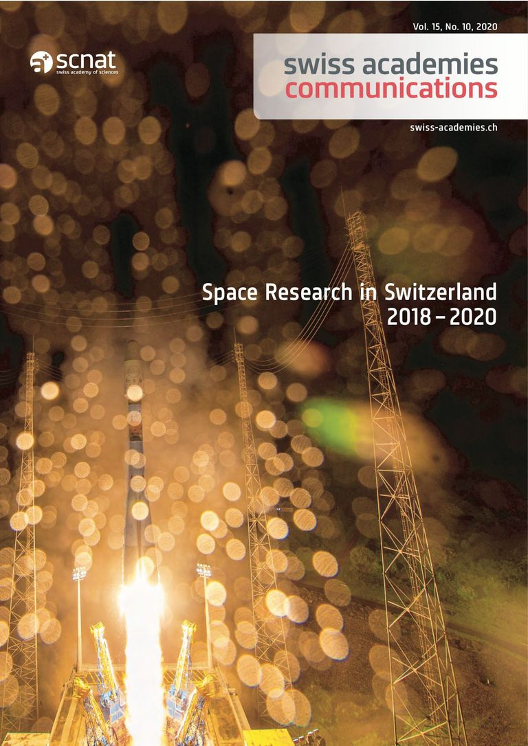COSPAR: space research in Switzerland 2018-2020