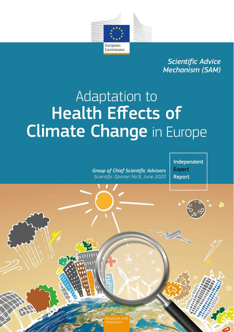 "Report ""Adaptation to health effects of climate change in Europe"""
