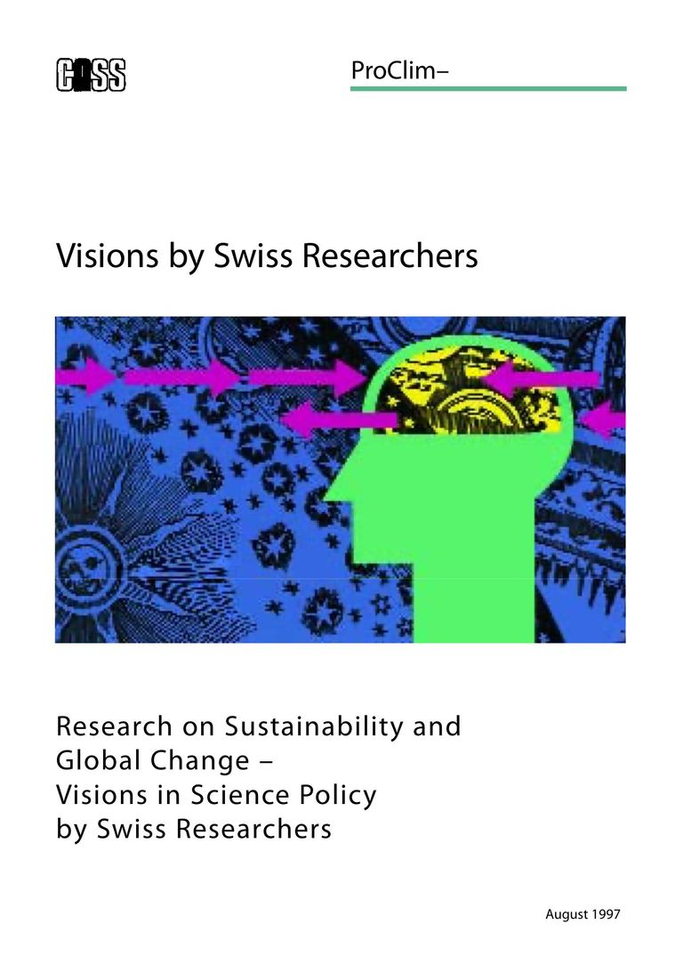 Full english report: Visions of Swiss scientists