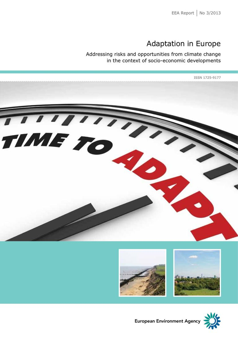 Download Report (PDF 5.2 MB): Adaptation in Europe - Addressing risks and opportunities from climate change in the context of socio-economic developments