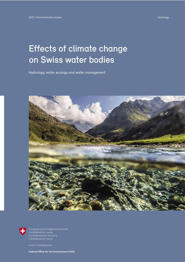 FOEN (2021) Effects of climate change on Swiss water bodies