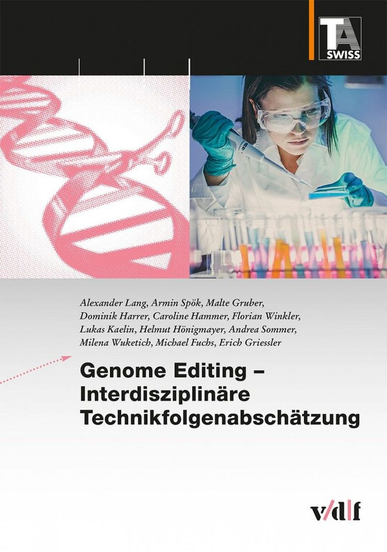 TA-SWISS (2019) Genome Editing - Cover