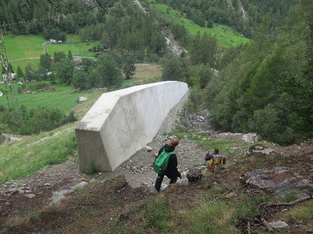 Young Geomorphologists Bielzug Protection Wall