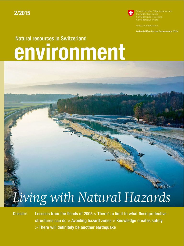 environment 2/2015: Living with natural hazards